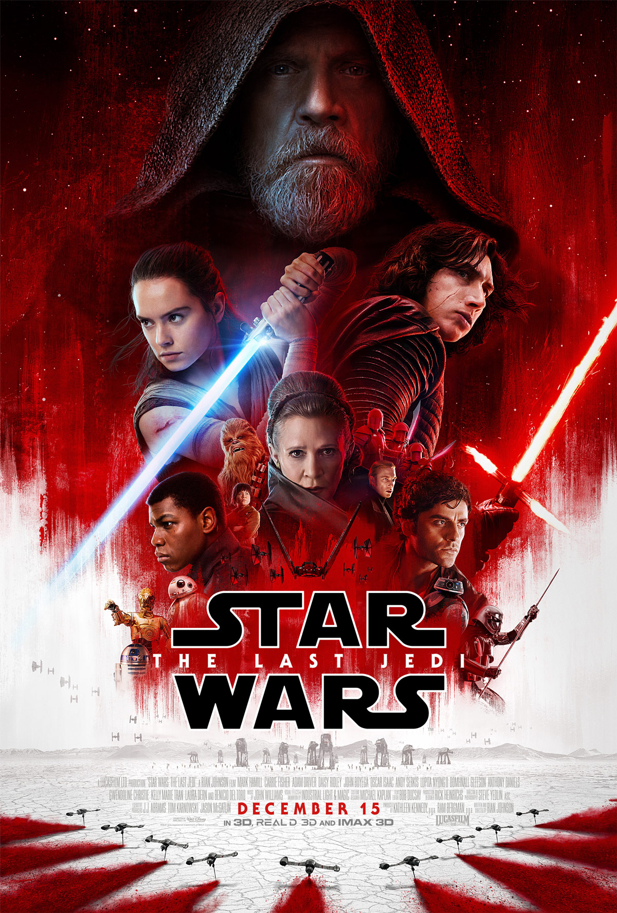 Star Wars: The Last Jedi - Offizielles Poster