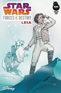 Forces of Destiny - Leia (Annie Wu Variant Cover) (03.01.2018)