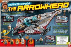 LEGO Star Wars Magazin #30 - Vorschau Seiten 30 und 31