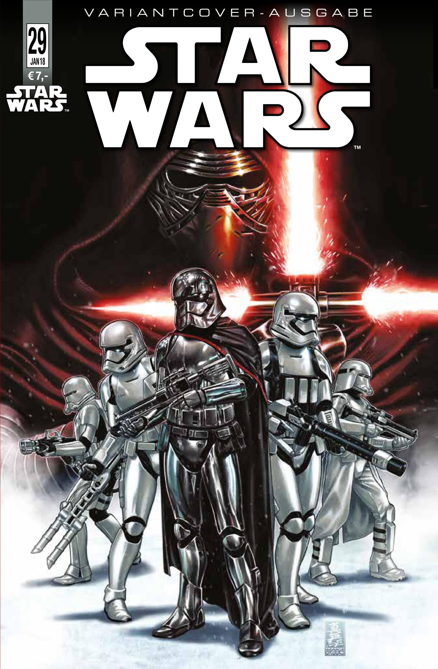 Star Wars #29 (Mark Brooks German Comic Con Variantcover) (09.12.2017)