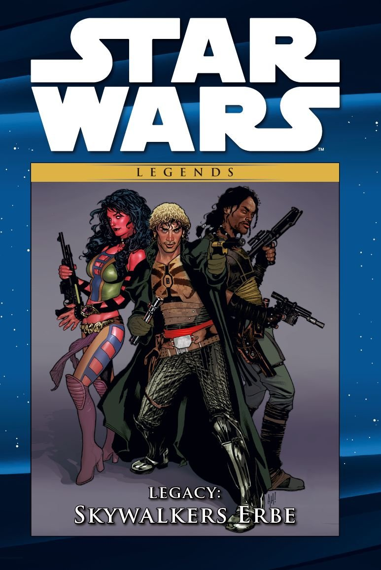 Star Wars Comic-Kollektion, Band 36: Legacy I: Skywalkers Erbe (30.01.2018)