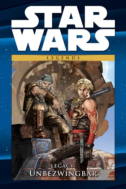 Star Wars Comic-Kollektion, Band 45: Legacy IV: Unbezwingbar (22.05.2018)