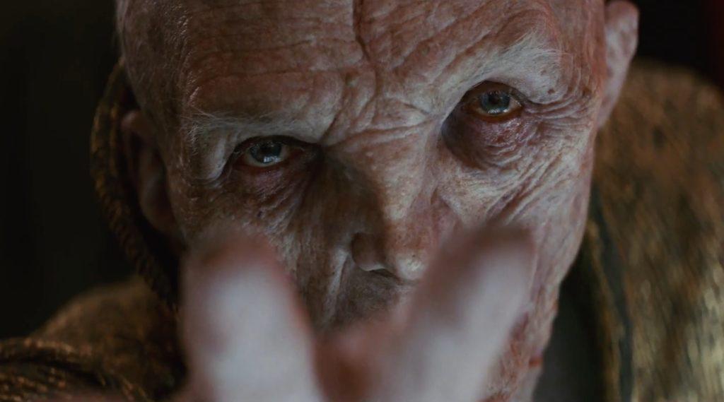Snoke im Trailer zu <em>Die letzten Jedi</em>