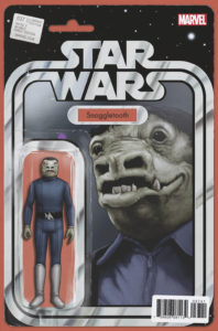 "Star Wars #37 (""Snaggletooth"" JTC Action Figure Variant Cover) (13.11.2017)"