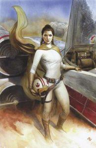 Star Wars #40 (Adi Granov Unknown Comic Books Virgin Variant Cover) (13.12.2017)