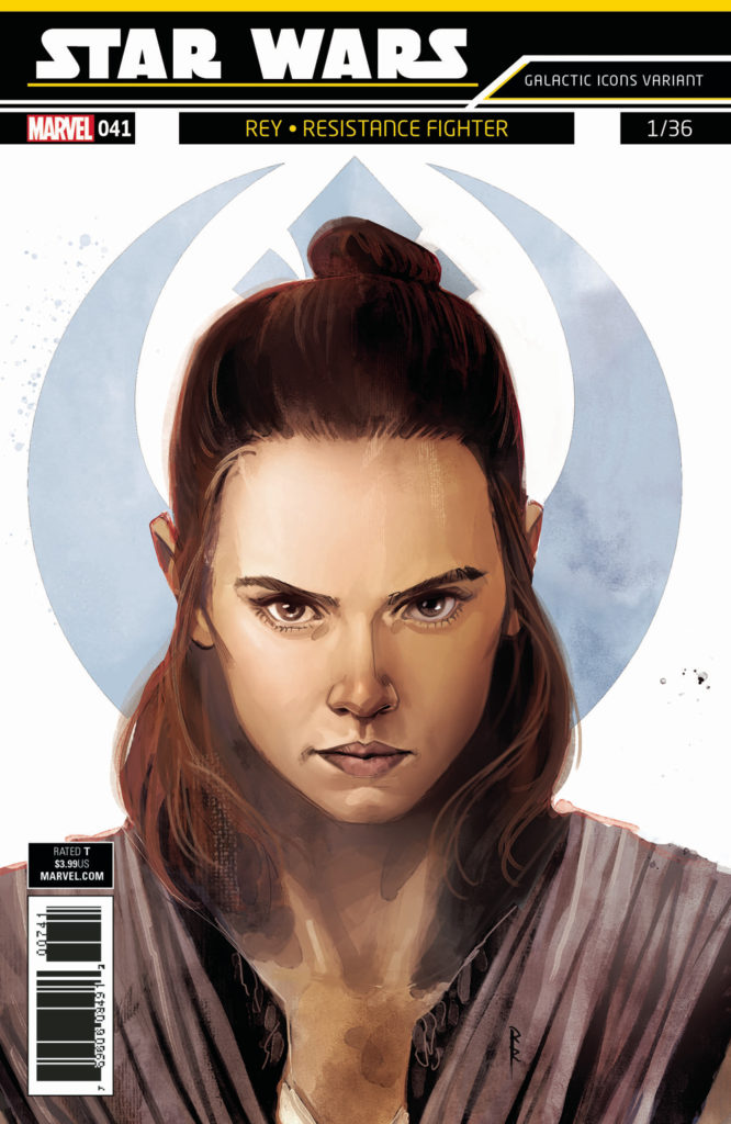 "Star Wars #41 (Rod Reis Galactic Icon ""Rey"" Variant Cover) (03.01.2018)"
