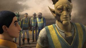 """In """"Das gekaperte Schiff"""" erhalten die Rebellen Unterstützung von Vizago."""