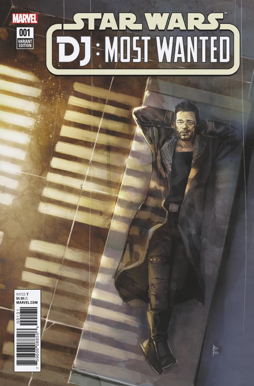 Star Wars: The Last Jedi: DJ: Most Wanted #1 (Rod Reis Variant Cover) (31.01.2018)