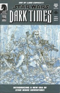 Dark Times #1 (Douglas Wheatley Sketch Variant Cover) (08.11.2006)