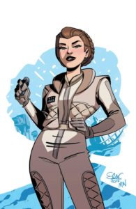 Forces of Destiny - Leia (Elsa Charretier Convention Exclusive Variant Cover) (23.03.2018)
