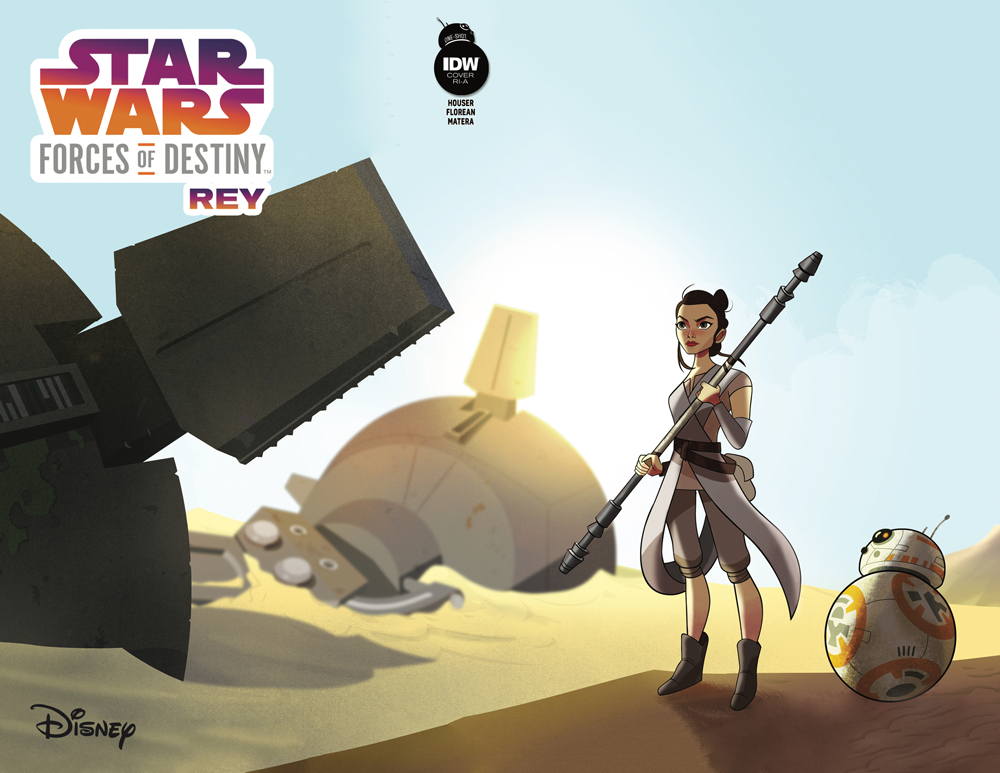 Forces of Destiny - Rey (Animation Variant Cover) (10.01.2018)
