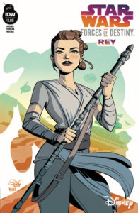 Forces of Destiny - Rey (Cover B by Elsa Charretier) (10.01.2018)