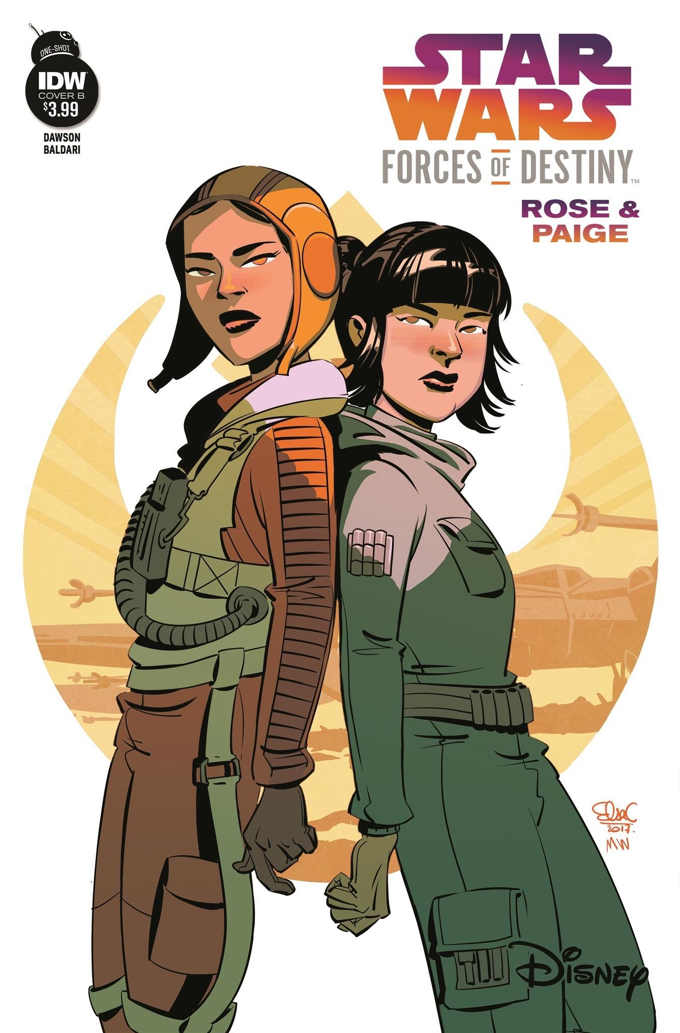 Forces of Destiny - Rose & Paige (Cover B by Elsa Charretier) (31.01.2018)