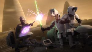 """In """"Bündnis mit dem Fremden"""" bekommen es die Rebellen mit Rukh zu tun."""