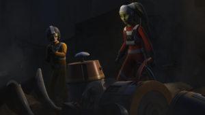 """Hera stürzt in """"Rebellenangriff"""" ab und muss sich durch die imperial besetzte Stadt schlagen."""