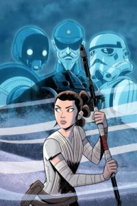 Star Wars Adventures: Destroyer Down (Cover Art)