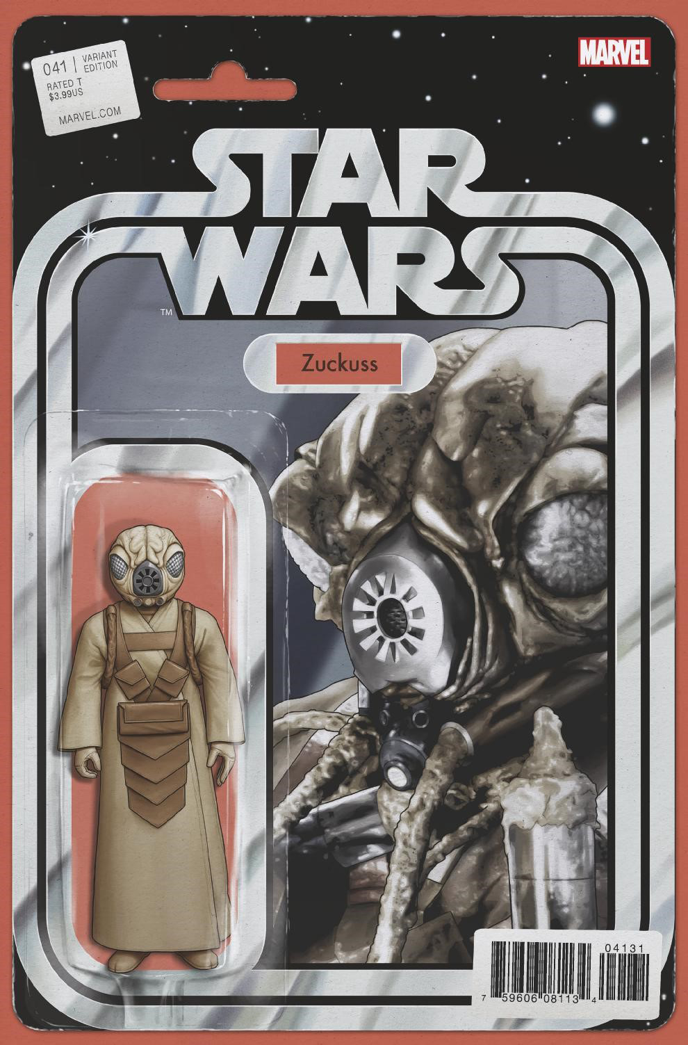 Star Wars #41 (Action Figure Variant Cover) (03.01.2018)