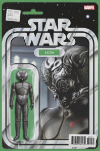 Star Wars #42 (Action Figure Variant Cover) (17.01.2018)