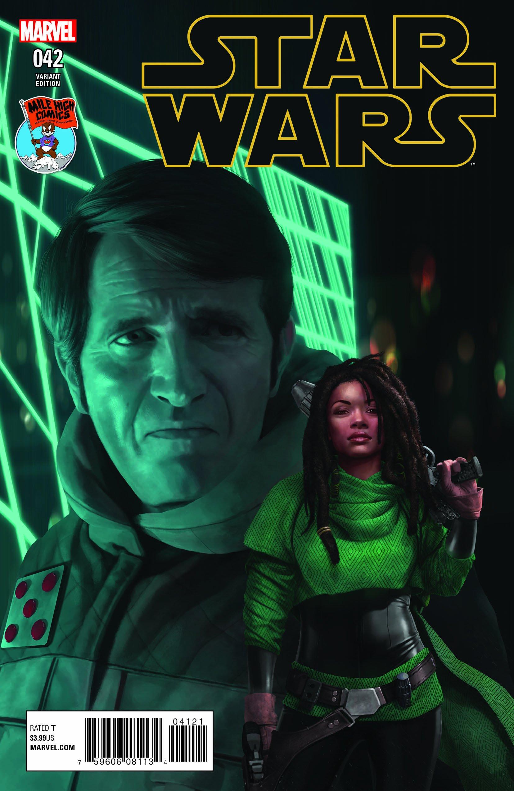 Star Wars #42 (Rahzzah Mile High Comics Variant Cover) (17.01.2018)