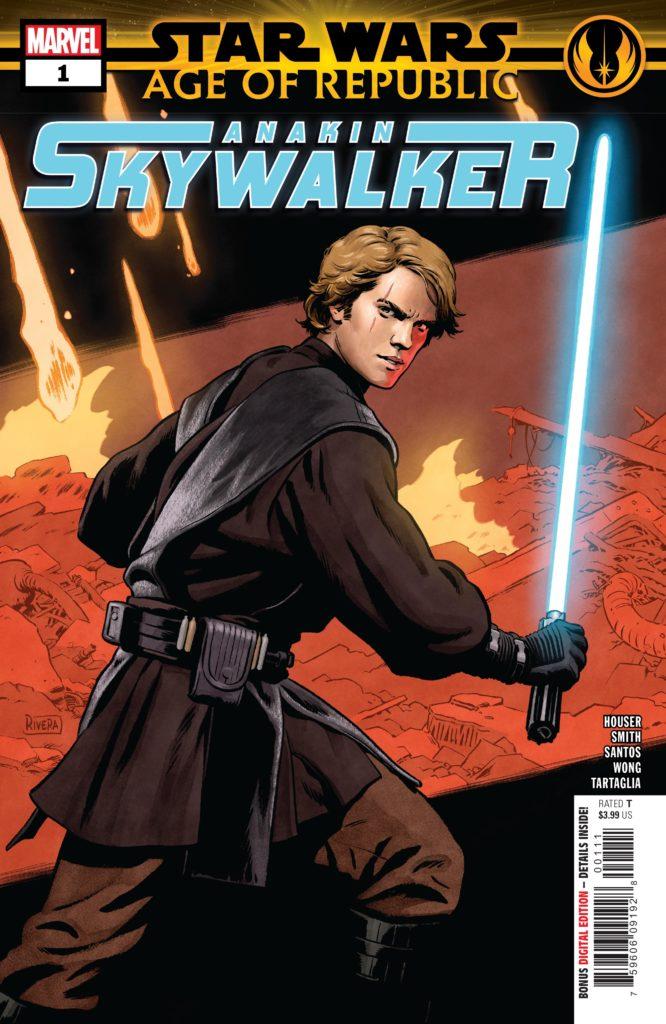 Age of Republic: Anakin Skywalker #1 (06.02.2019)