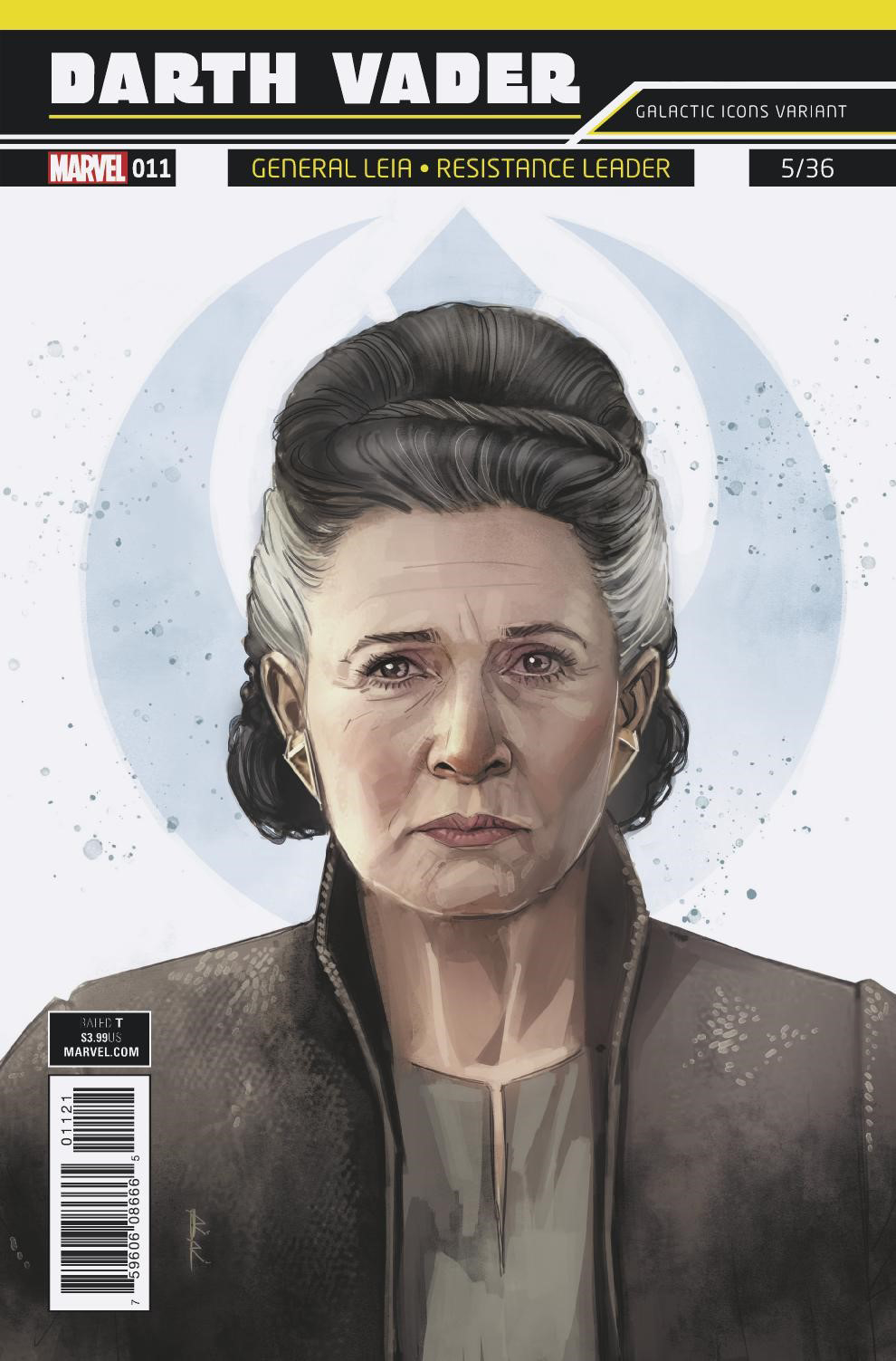 """Darth Vader #11 (Rod Reis Galactic Icon """"General Leia"""" Variant Cover) (14.02.2018)"""
