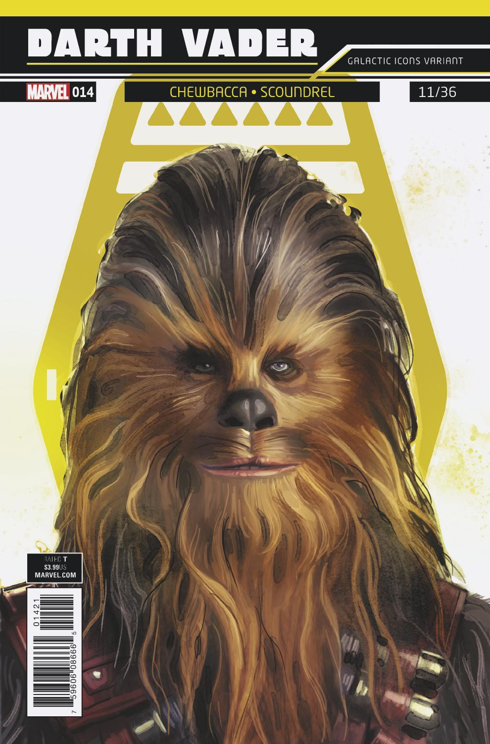 Darth Vader #14 (Rod Reis Galactic Icon Variant Cover) (11.04.2018)