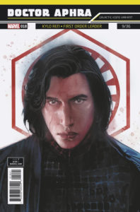 "Doctor Aphra #18 (Rod Reis Galactic Icon ""Kylo Ren"" Variant Cover) (28.03.2018)"