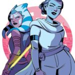 Forces of Destiny - Ahsoka & Padmé (Elsa Charretier Convention Exclusive Variant Cover) (23.03.2018)