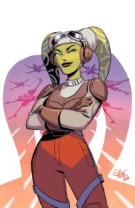 Forces of Destiny - Hera (Elsa Charretier Convention Variant Cover) (23.03.2018)