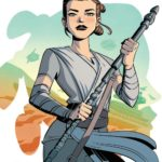 Forces of Destiny - Rey (Elsa Charretier Convention Exclusive Variant Cover) (23.03.2018)