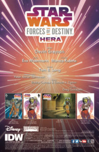 Forces of Destiny - Hera Vorschauseite 1