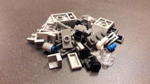 LEGO Star Wars Magazin #28 - First Order Snowspeeder - Bauteile