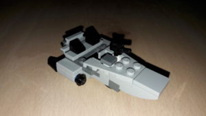 LEGO Star Wars Magazin #28 - First Order Snowspeeder - Set