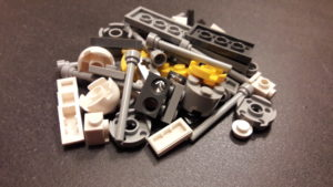LEGO Star Wars Magazin #30 - Y-Wing - Bauteile