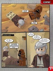 LEGO Star Wars Magazin #31 - Vorschau Seite 5