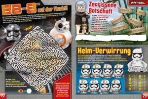 LEGO Star Wars Magazin #31 - Vorschau Seiten 22 und 23