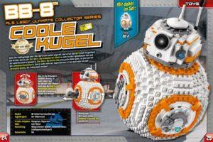 LEGO Star Wars Magazin #31 - Vorschau Seiten 24 und 25