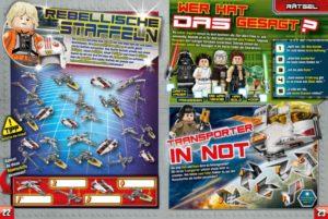 LEGO Star Wars Magazin #32 - Vorschau Seiten 22 und 23
