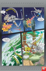 LEGO Star Wars Sammelband #8 - Der Weg des Jedi - Vorschauseite 5