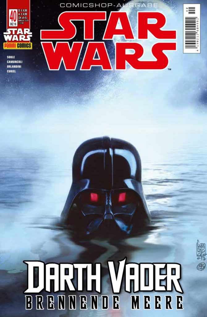 Rezension Star Wars 40 Darth Vader Brennende Meere Teil