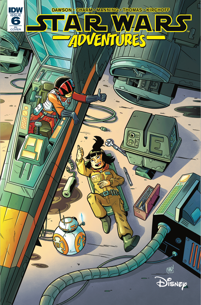 Star Wars Adventures #6 (Chad Thomas Variant Cover) (17.01.2018)