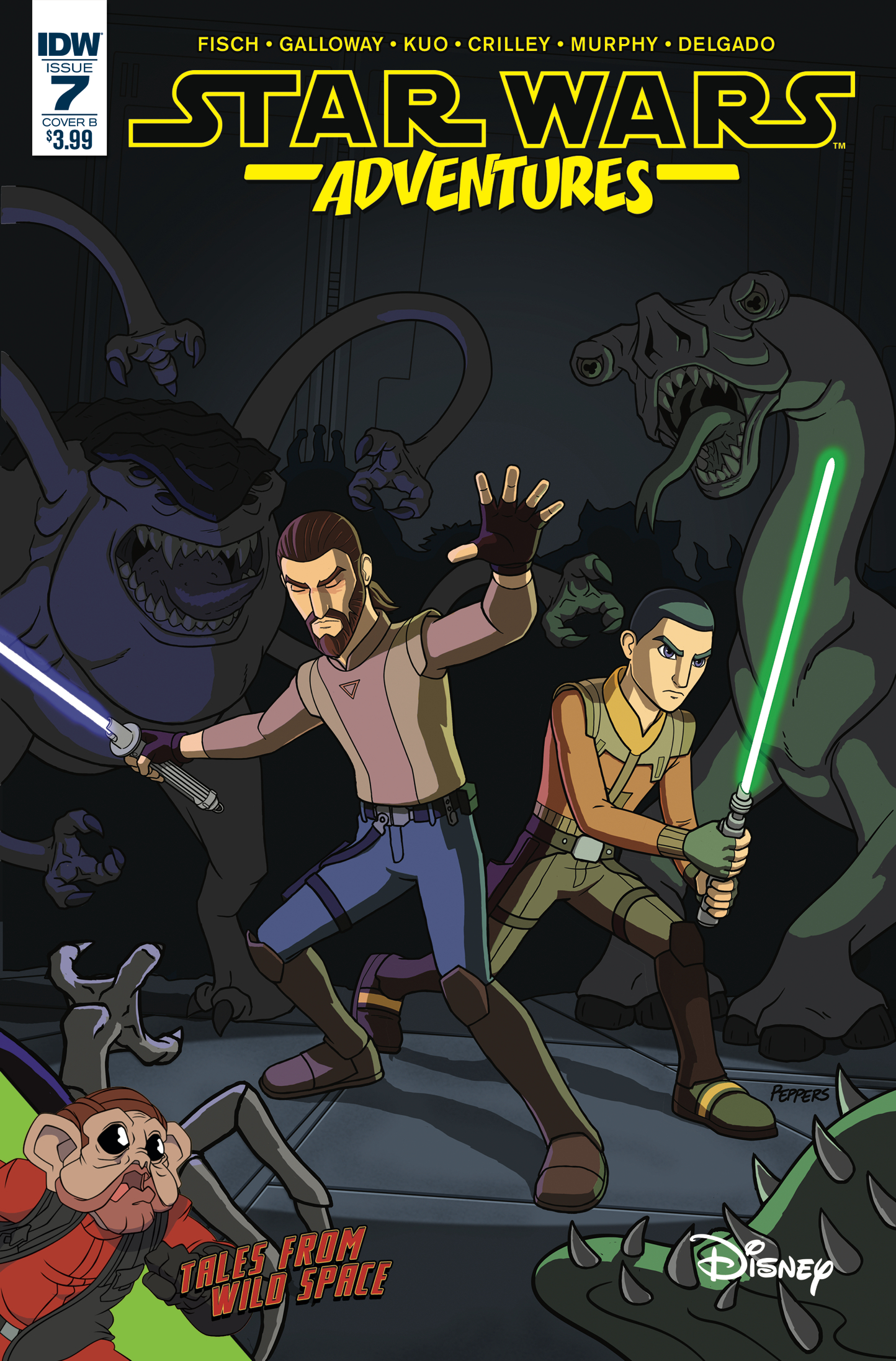 Star Wars Adventures #7 (Cover B by Jamal Peppers) (14.02.2018)