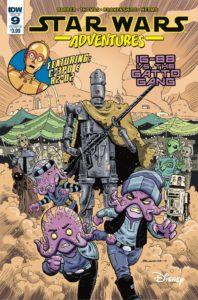 Star Wars Adventures #9 (Cover B by Nickolas Brokenshire) (18.04.2018)