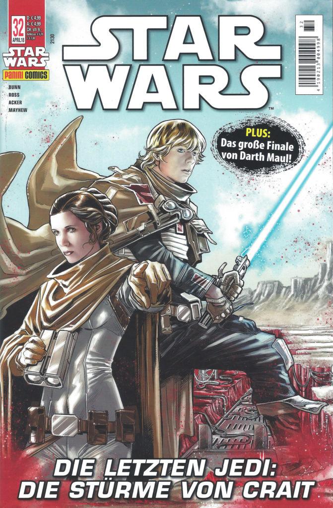 Star Wars #32: Darth Maul, Teil 5 / Die letzten Jedi: Die Stürme von Crait (21.03.2018)