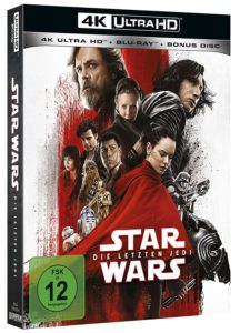 Star Wars: Die letzten Jedi 4K (4K UHD + Blu-ray + Bonus Blu-ray) (26.04.2018)