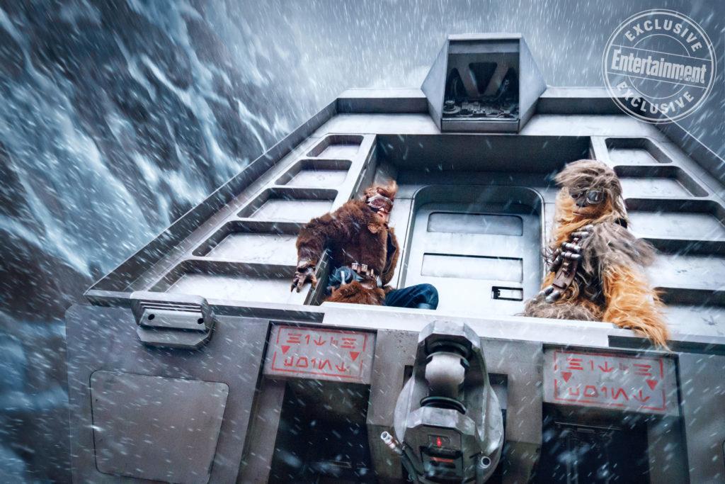 Han, Chewie und der Conveyex (Bild: Lucasfilm)