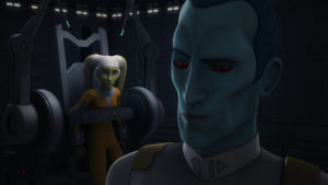 """Hera befindet sich in """"Jedi Night"""" in Gefangenschaft beim Imperium."""
