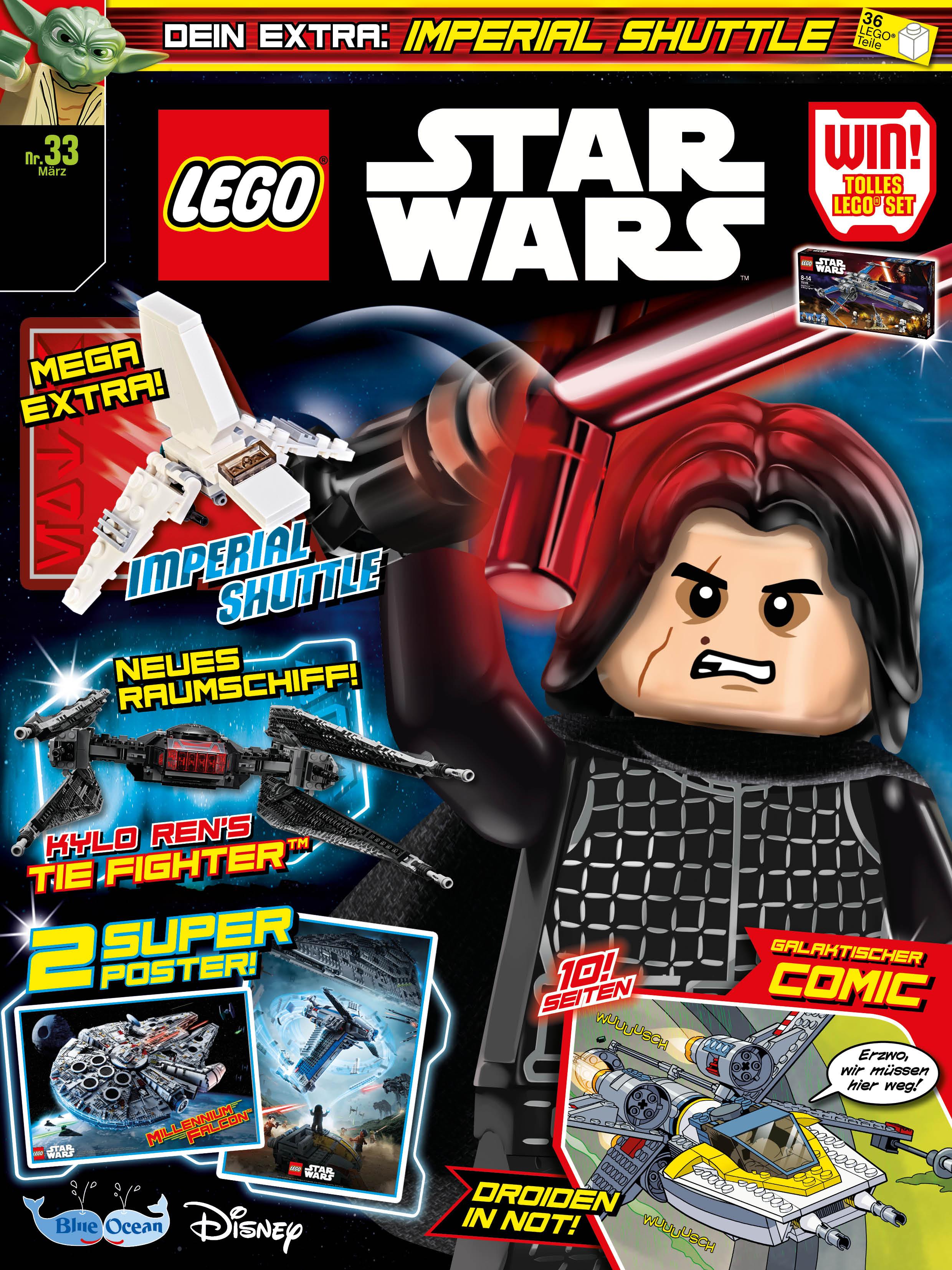 Rezension Lego Star Wars Magazin 33 Von Blue Ocean Entertainment