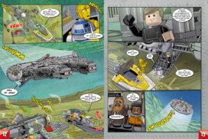 LEGO Star Wars Magazin #33 - Vorschau Seiten 12 und 13