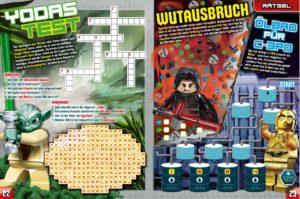 LEGO Star Wars Magazin #33 - Vorschau Seiten 22 und 23